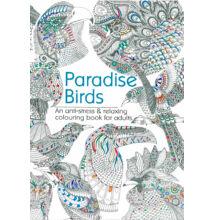 Színezőkönyv - Paradicsomi madarak