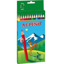 Színes ceruza 12 db-os készlet, ALPINO