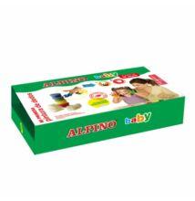 Baby ujjfesték készlet, 4 x 40 ml, ALPINO