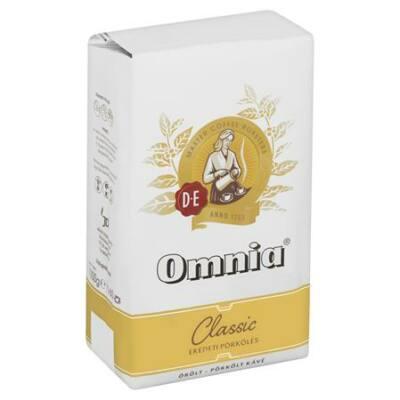 Kávé, őrölt, 1kg - Omnia Classic