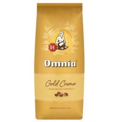 Kávé, szemes, 1kg - Omnia Gold Crema