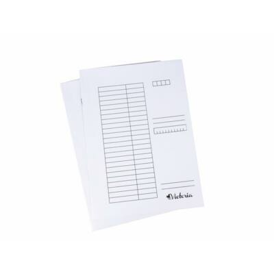 Pólyás dosszié, papír - A4