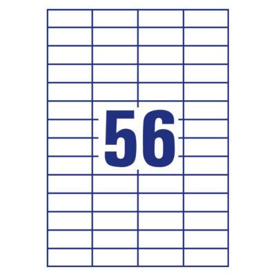 101630 - Etikett bizt. 52.5x21.2 [56] 100lap