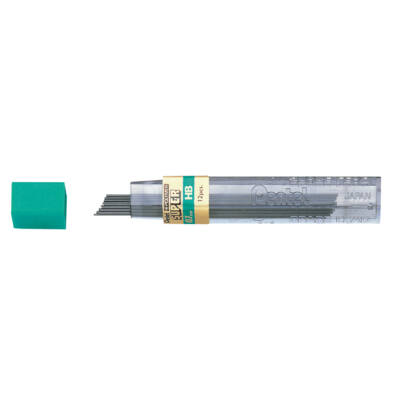 Töltőceruza betét, 0,7 mm, H, Hi-Polymer, PENTEL