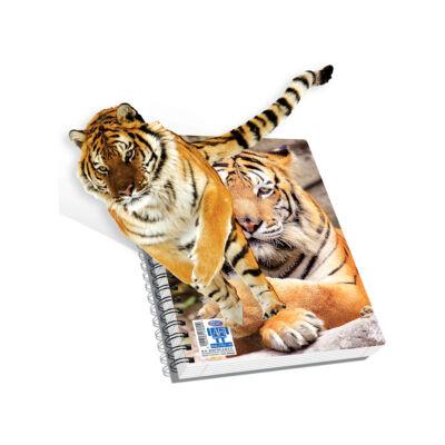 Spirálfüzet, A4, vonalas, 120 lap - Tigris, SKAG AR