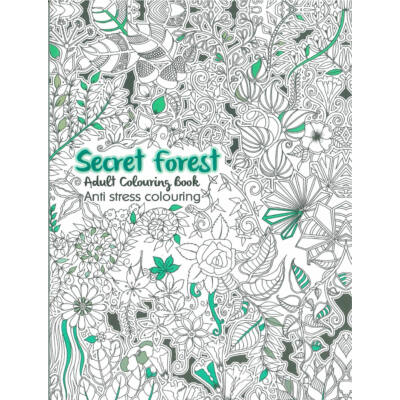 Színezőkönyv - Titkos erdő