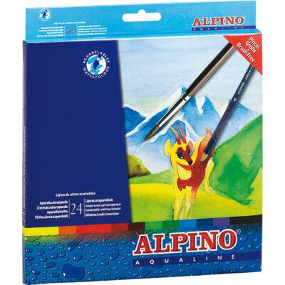 Aquarell 24 db-os színes ceruza készlet, ALPINO