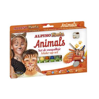 Arcfesték készlet, Alpino állatok, ALPINO